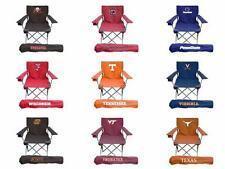 Choose NCAA College N-Z Team Ultimate Adult Tailgate Folding Chair by Rivalry