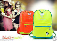 EXO XOXO Schoolbag kpop satchel Backpack NEW student book fluorescence bag