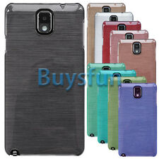 Deluxe Brushed Finish Hard Cover Case for Samsung Galaxy Note 3 N9000