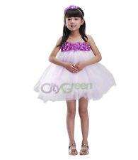 New Flower Girl Princess Bridesmaid Wedding Pageant Party Dress