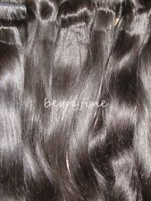 2/3/4/5pc Brazilian Natural Straight Hair Wefts Lace/Silk Closure Extension Lot
