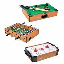 Mini Air Hockey Pool Football Game Activity Games for Kids Stress Relief