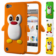 New Penguin Silicone Gel Case Cover for Apple iPod Touch 5 5th Gen Generation 5G