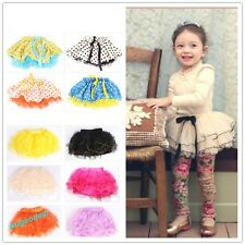 New 2014 summer girls tutu skirts for dance party kids bow dress  3-12 years