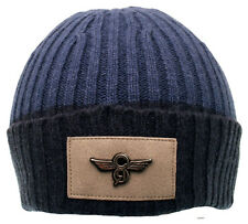 MENS CREATIVE RECREATION FIRM RIBBED KNIT BEANIE HAT BLUE BRAND NEW CAP68C