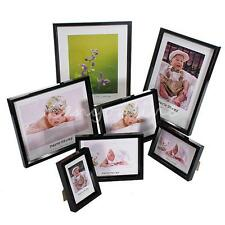 7 Sizes Black Multi Size Home Wall Picture Photo Frames Table Decoration