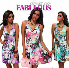 NEW SEXY WOMEN'S DRESS 6 8 10 LADIES PARTY CLUBBING EVENING CASUAL WEAR CLOTHES
