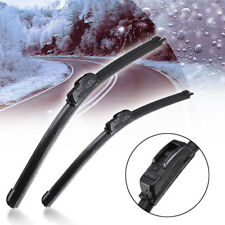 "Universal Frameless Window Windshield Windscreen Wiper Blade U-type Hook 16""-24"""