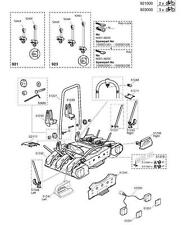 Thule 921 / 923 EuroWay Towbar Mounted Cycle Carrier Spare Parts Multi-Listing