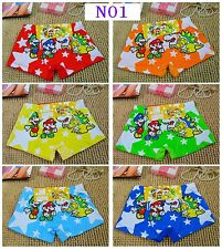 Fashion Kids Boys Cartoon Children Boxer Shorts Underwear Size M 4-6yrs N01