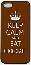 Rikki Knight keep Calm and Eat Chocolate Case for iPhone 4/4s, 5/5s, 5c, 6/6p
