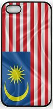 Rikki Knight Malaysia Flag Case for iPhone 4, 5 & 6