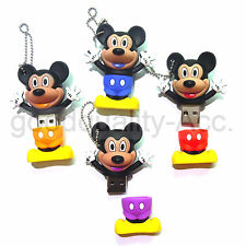 3D Cartoon Mickey mouse Clé USB Les lecteurs flash USB 4GB-32GB USB2.0