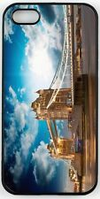 Rikki Knight Beautiful Sunset Colors Over Famous Tower Bridge In London Case for