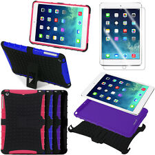 Shockproof Hybrid Heavy Duty Stand Case Cover Hard Armor For Apple iPad Mini 2