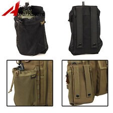 ROGISI Airsoft Tactical MOLLE CORDURA Big Water Bottle Pouch Bag 2 Colors BK/CB