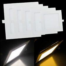 6W/9W/12W/15W/18W/21W LED Square Recessed Ceiling Panel Down Light Lamp + driver