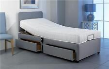 Single 3ft Adjustable Electric Bed 2 Draw Storage Free Instal + 5yr Warranty
