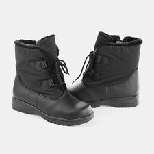 Totes Kay Collection Women's Waterproof Thermolite Rain Winter Snow Boots Black