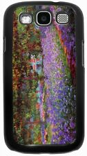 Rikki Knight Claude Monet Art Garden in Giverny Case for Samsung Galaxy S3 S4 S5