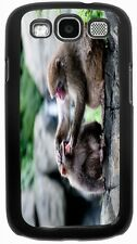 Rikki Knight Snow Monkeys Mother Grooming Baby Case for Samsung Galaxy S3 S4 S5