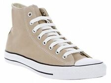 MENS WOMENS CONVERSE ALL STAR TAUPE HI TOPS LACE UP SHOES TRAINERS SIZE UK 3-11