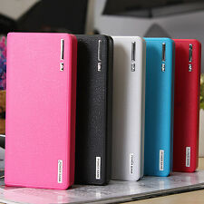 30000mAh LED Dual USB External Power Bank Battery Charger for Cellphone iPhone 6