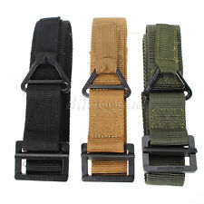 Survival Tactical Waist Strap Belt Fire Rescue Militaria Hunting Rigger CQB XL