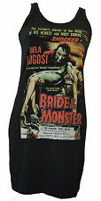 LADIES DRESS BELA LUGOSI BRIDE B MOVIE MONSTER HORROR RETRO CULT S_XL