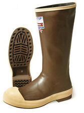 "XTRATUF SAFETY STEEL TOE NON INSULATED RUBBER 16"" BOOT 22271G NEW USA MADE"