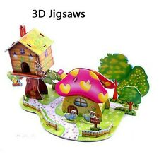 20 Modules 3D Jigsaws Puzzles Game Model Fancy Toy for Children Kid DIY Gifts IQ