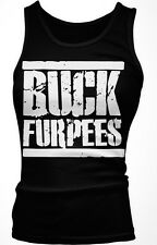 Buck Furpees Burpees WOD Workout Fitness Exercise Funny Boy Beater Tank Top