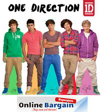 """1D ONE DIRECTION MINI STANDUP STANDEE 12"""" TABLE DESK TOP CARDBOARD CUT OUT"""