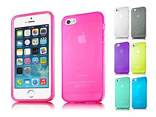 Crystal Transparent Soft TPU Bumper Skin Shell Cover Case For Apple iPhone 5 5S