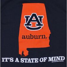 Auburn Tigers T-Shirts - It's A State Of Mind - Home - Color Navy