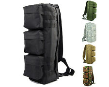 Airsoft Molle Tactical Assault Go-Bag Transformers Backpack Bag 5 Colors BK/OD B