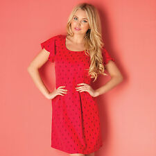 Vero Moda Womens Emmas Dress In Red From Get The Label