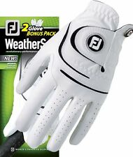 NEW FootJoy Mens Weathersof Golf Gloves - 2 Pack LH Reg and Cadet Style