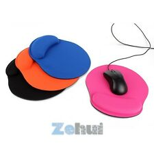 High quality Thicken Comfort Wrist For Optical/Trackball Mouse Pad Mat Mice Pad