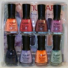 NUBAR SPRING IN THE CITY COLLECTION FULL SIZE 8 VARIOUS COLOR LACQUERS