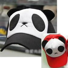 1PCS Cute Panda Baseball Cap Adjustable Hat fit for Girl Women casur K0TG
