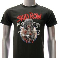 ASIA SIZE S M L XL Skid Row T-shirt Heavy Metal Hard Music Tour Concert Many