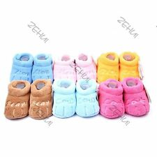 New Cotton Kids Toddler Boys Girls Unisex Skid-proof Soft Sole Baby Shoes
