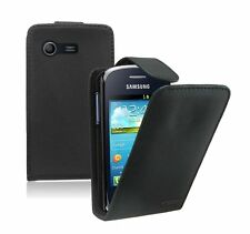Leather Flip Case Cover Pouch for Samsung Galaxy Star GT-S5282 Dual SIM