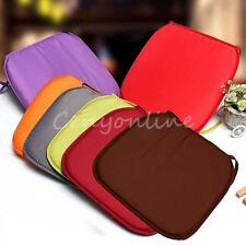Multi-colors Chair Seat Pads Cushion Pads Dining Garden Park With Tie 37x37x2cm