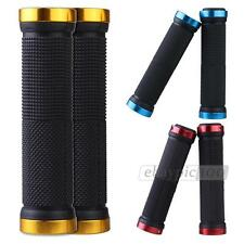 Pair Mountain Bike Bicycle Cycling Locking Lock-on Handlebar Hand Grip
