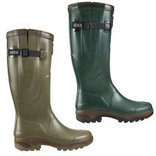 AIGLE PARCOURS 2 ISO WELLINGTON WELLIES LATEST ANTI-FATIGUE MODEL HUNTING NEW