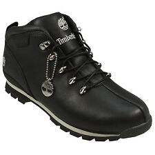Mens Timberland Split Rock Hiker Boots In Black From Get The Label