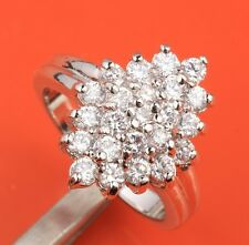 White BREATHTAKING CZ Gemstones Silver Rings US#Size5 6 7 8 9 B6292