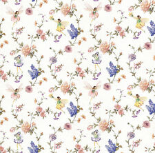 Dolls House Wallpaper 1/12th 1/24th scale Floral Fairies Quality Paper #53